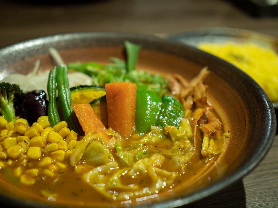 ふらのやのたっぷり道産野菜のスープカレー