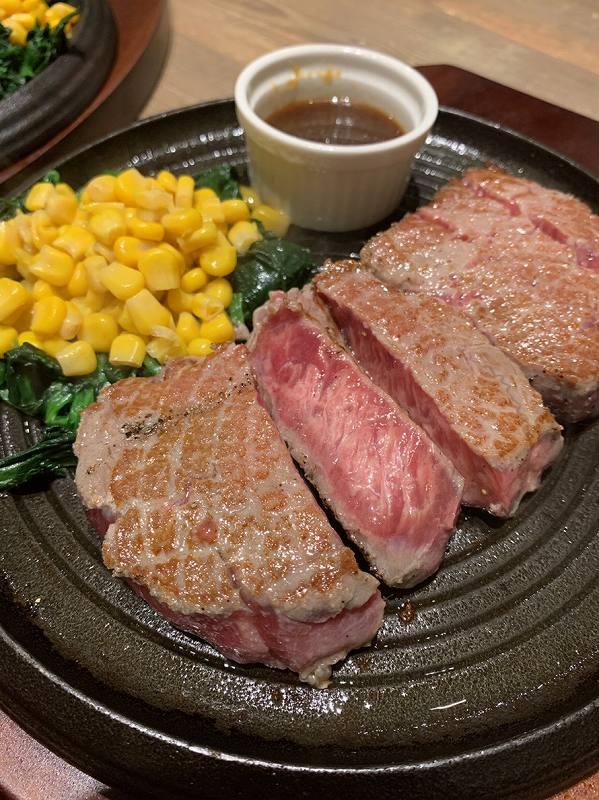ピッカーニャの旨味牛ステーキ