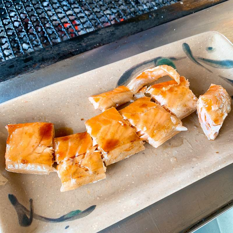 鮭番屋のサーモンハラス