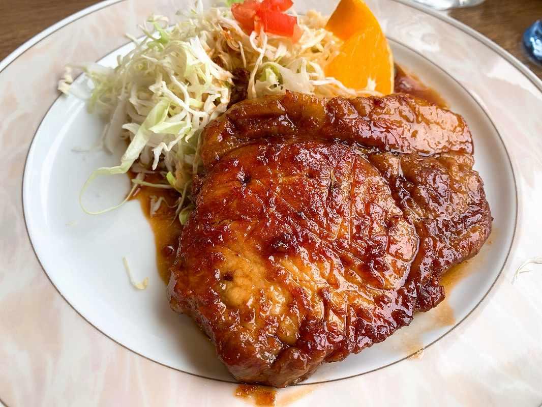 ポポロの生姜焼定食